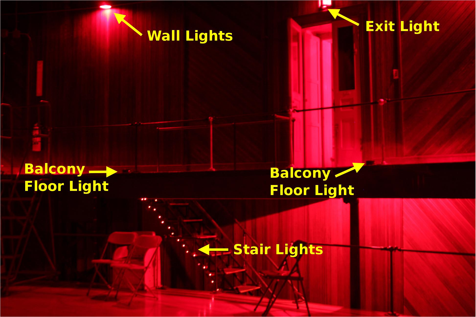 Lick 36 Inch Telescope Manual Dome Lights